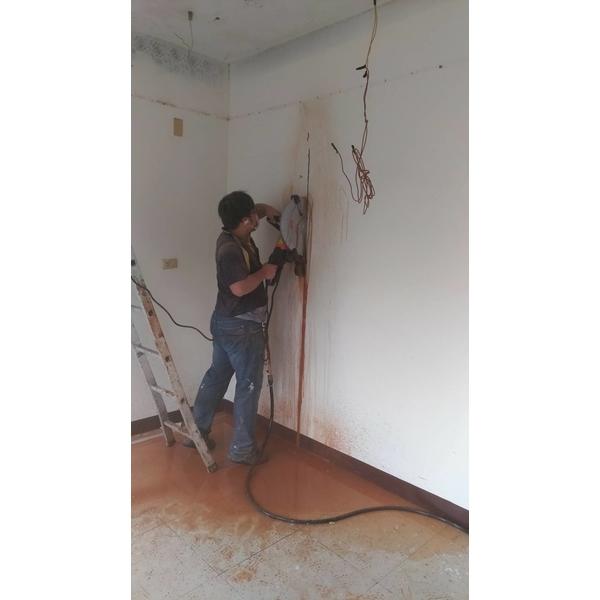 牆壁切割-悅德工程行-桃園