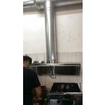 前吸式煙罩-風管,除味箱,水洗機,靜電機,局部排氣,煙罩,排氣罩-聯翔實業社
