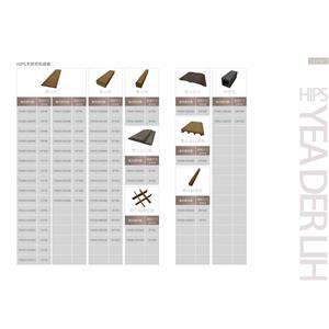 HIPS木塑材料總表-亞德利塑膠工廠股份有限公司-台南