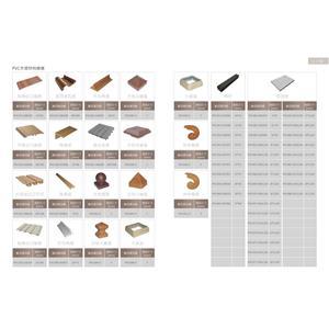 PVC木塑材料總表-2-亞德利塑膠工廠股份有限公司-台南