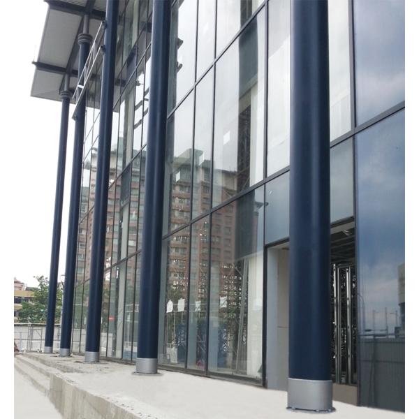 外牆鋼柱噴漆-詮成油漆工程行-新北