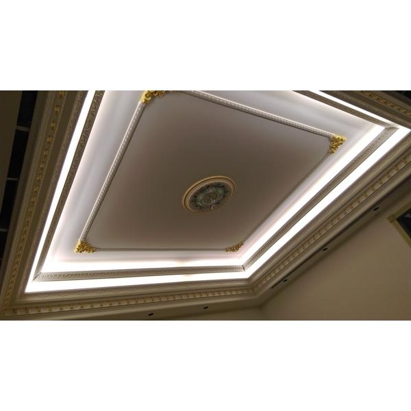 歐式天花板配置-振華裝修工程公司-台中
