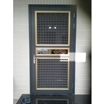 藝術門-利源不銹鋼鋁門窗行-H型採光罩,H型鋁鋼構材料買賣,鋁格柵,藝術門窗