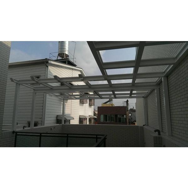 後陽台採光罩