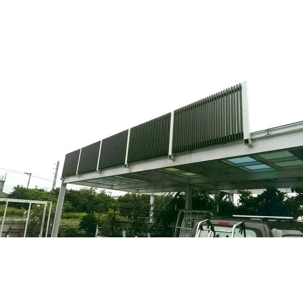 露臺型欄杆 採光罩