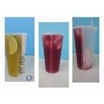 強強強,双享杯双重口味,單一口味單邊喝完兩邊冰塊不混合,大幅