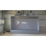 直立式水洗台-炬翔通風機械企業社-集塵器,水洗台,風球,降溫,馬達更換,工廠散熱