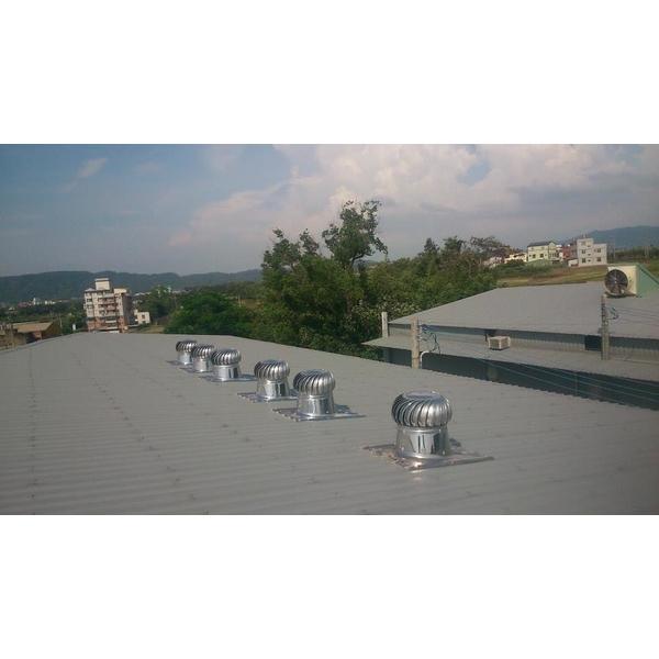 免動動自然通風降溫系統安裝實例