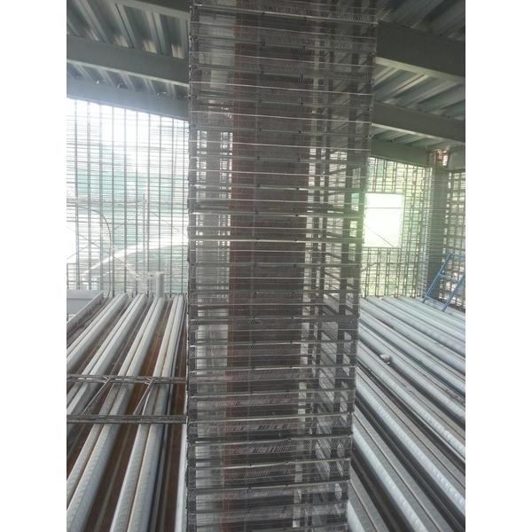鋼網牆施工