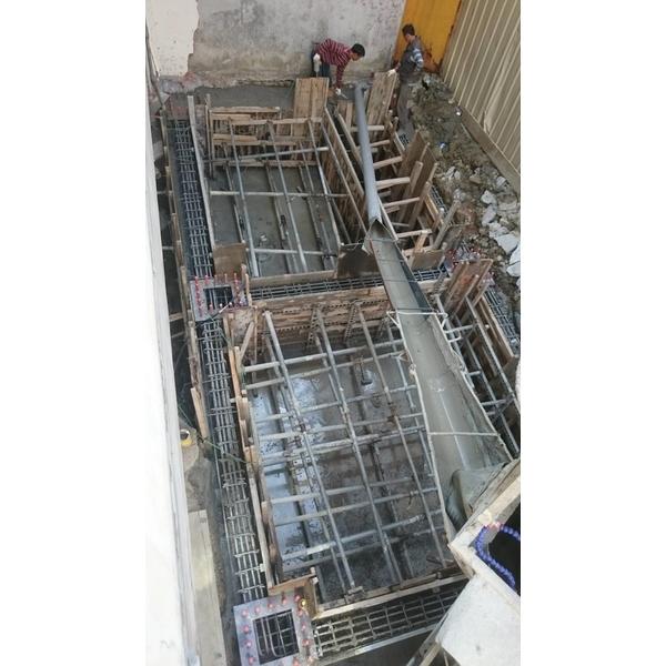 基礎施工工程