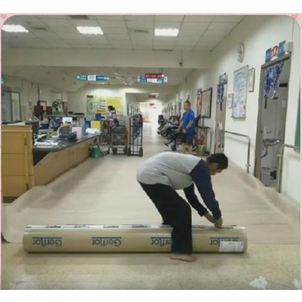 熱溶式無縫地板鋪設工程