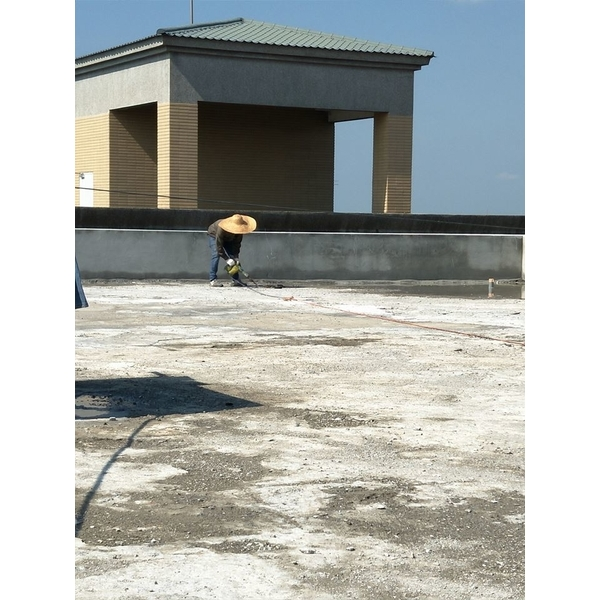 屋頂防水-地坪整理