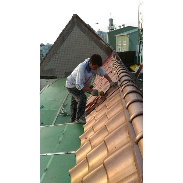 烤漆鋼板屋瓦