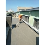 屋頂防水舖設熱溶毯