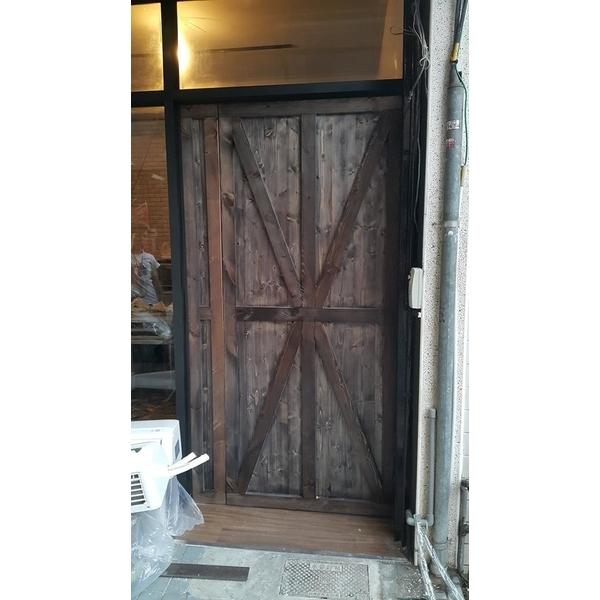 文化特色的穀倉門