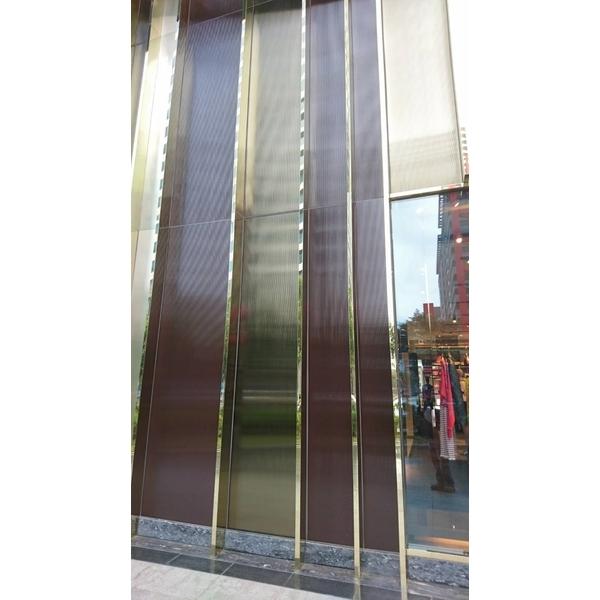 鍍鈦玻璃帷幕