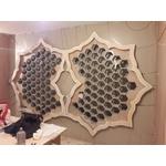 擁恆文創園區 -蜂巢造型-鐵件飾條-pic2