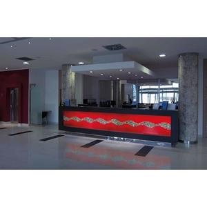 義大利威尼斯手工玻璃-裝置藝術-飯店櫃-富田光電有限公司-台中
