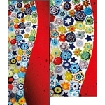 義大利威尼斯彩色島手工玻璃 牆面裝置藝術