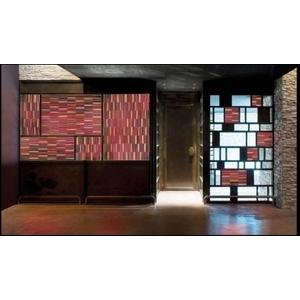 義大利威尼斯彩色島手工玻璃 牆面裝置藝術-富田光電有限公司-台中