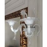 義大利威尼斯手工壁燈-古典白色純潔