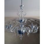 義大利威尼斯手工吊燈-古典透明純潔