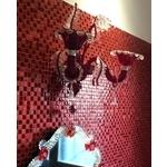 義大利威尼斯手工壁燈 / 熱情紅