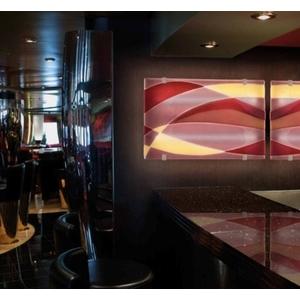 義大利威尼斯彩色島手工玻璃 裝置藝術