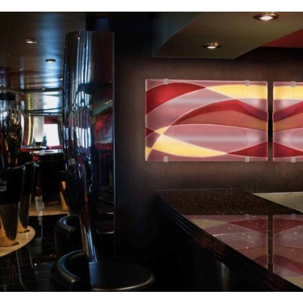 義大利威尼斯彩色島手工玻璃 裝置藝術-富田光電有限公司-台中