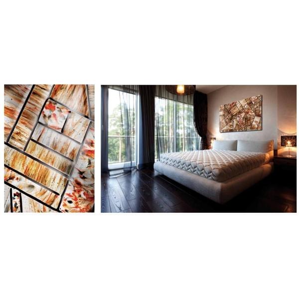 義大利威尼斯手工玻璃-裝置藝術-床頭裝飾-富田光電有限公司-台中