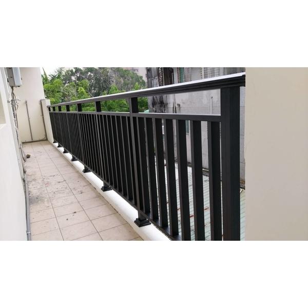 陽台欄杆-禾信鋼鋁門窗-台南