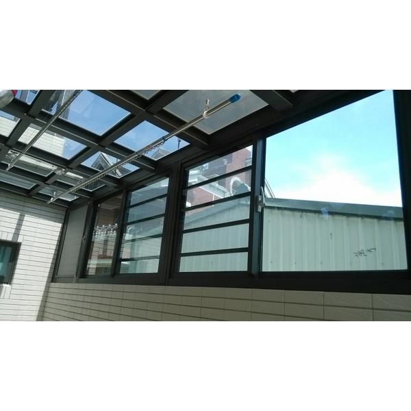 H型玻璃採光罩&氣密窗