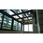 H型玻璃採光罩&氣密窗1