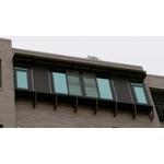 5樓陽台凸窗   推拉窗+活動鋁百葉+氣密窗