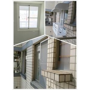 氣密窗 舊換新 乾式施工+雨遮及花架