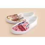 帆布鞋印刷彩繪