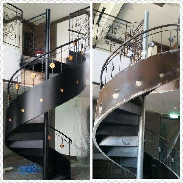 造型鐵件噴漆-生達油漆工程行-台南