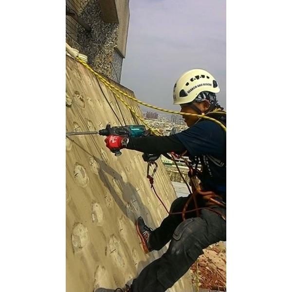 外牆防水高空繩索作業