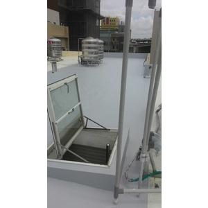 六層的防水工法內含抗裂網