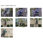 外牆清洗高空繩索作業