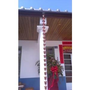 銅落水鏈-權威文化瓦-雲林