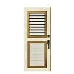 百葉門-防颱氣密窗,靜音氣密鋁窗,浴室門,防盜門窗,氣密窗,推射窗-皇佳鋁業