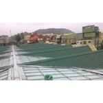 蓋鐵皮屋屋頂