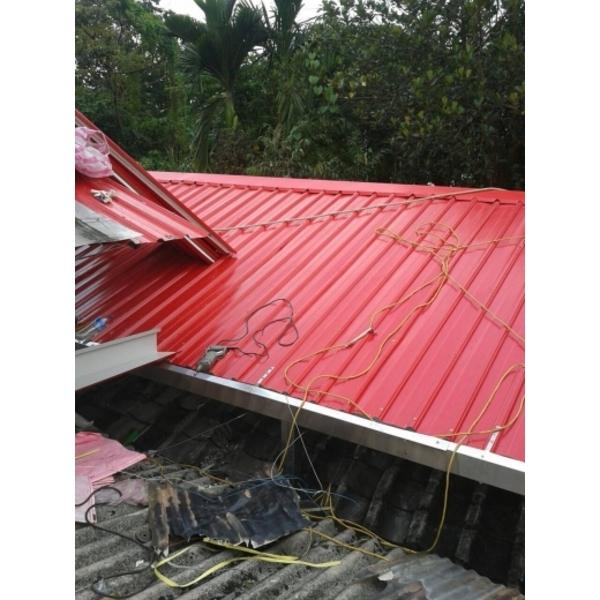鐵皮屋屋頂修繕-進興鐵工廠-新北