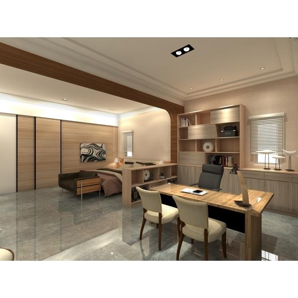 空間規劃-3D示意-良祺室內設計工作室-彰化