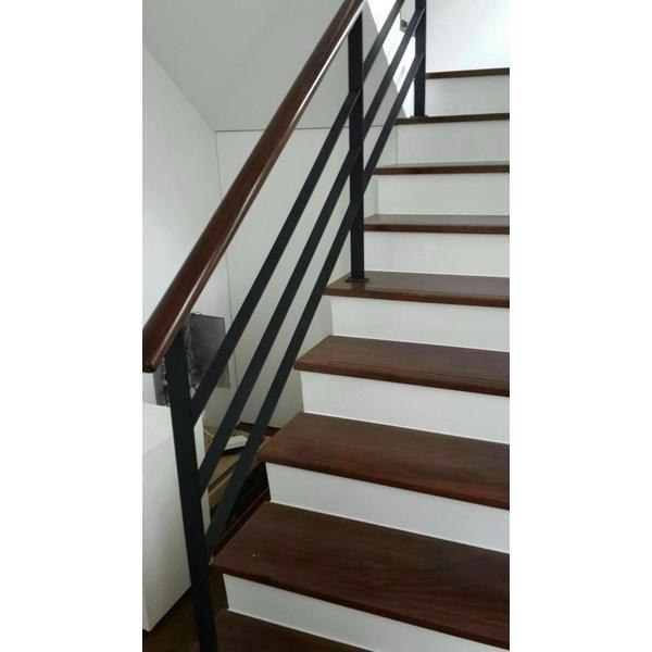 樓梯鍛造扶手-好居家地板工程-台北