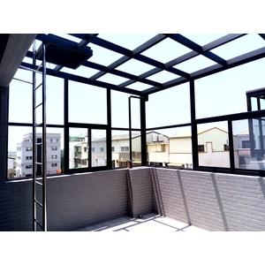 車庫棚採光罩-台南楓晟鋁門窗