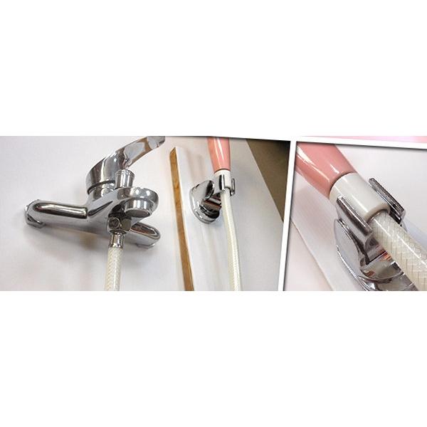 亮銀多段可調式蓮蓬頭專用掛座 掛勾