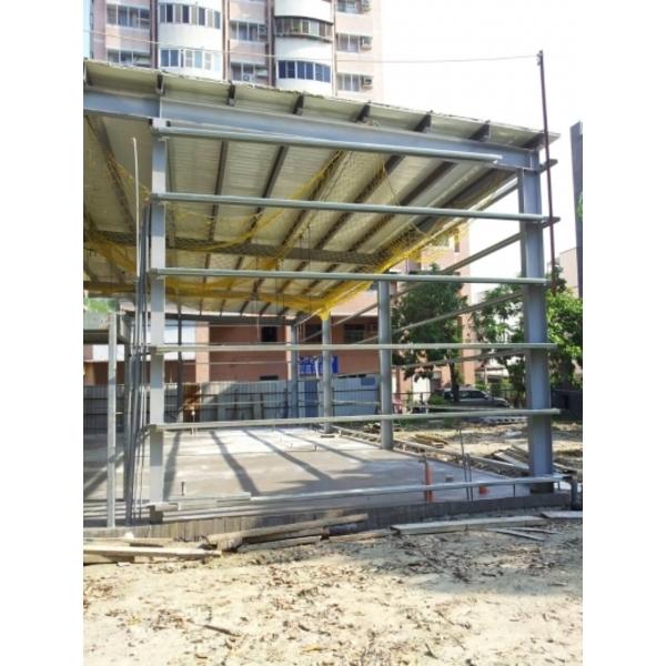 鐵屋新建施工中-正鋼工程-高雄