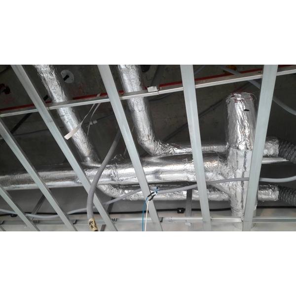 大樓冰水管路保溫